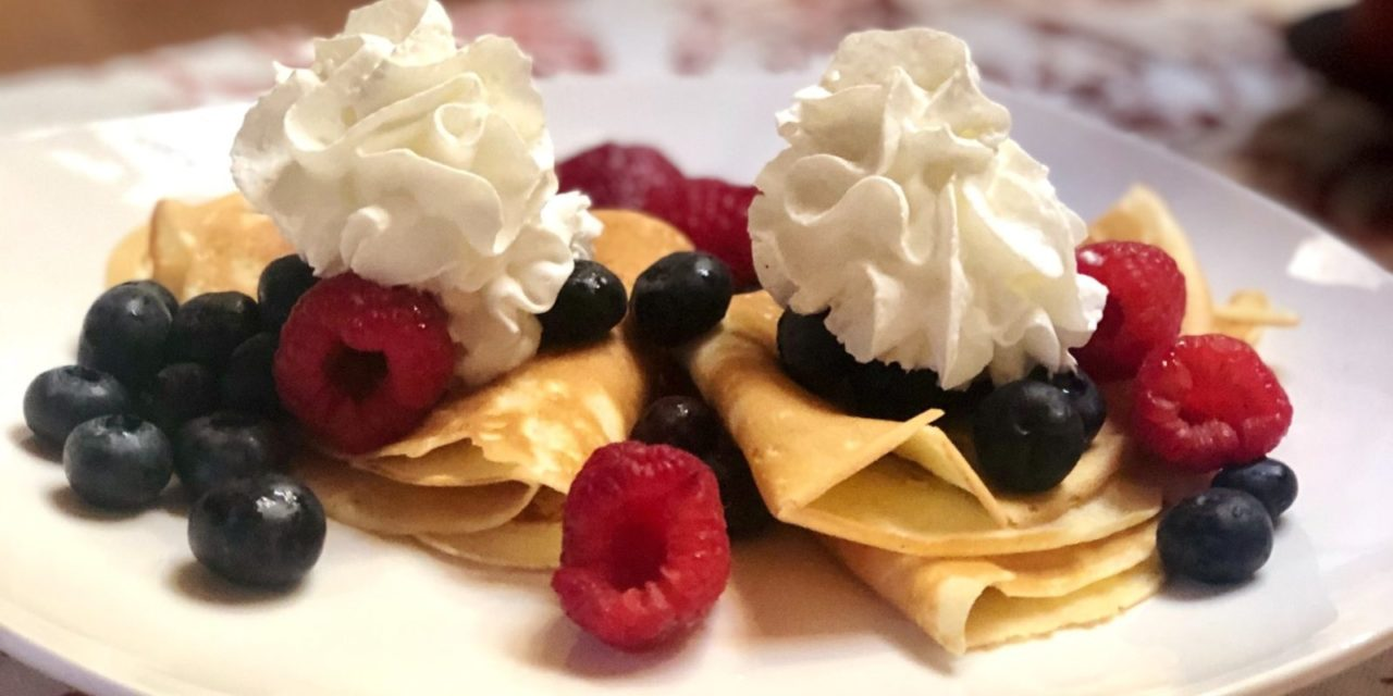 Palacsinta (Crepes) for Dinner